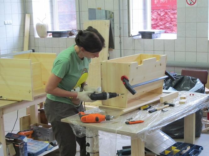 Столярная мастерская своими руками фото