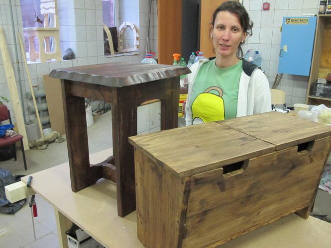 Мебель из дерева своими руками Ольги