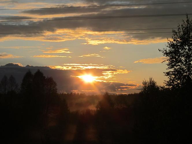 Закат в Ручкино